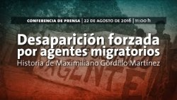 Desaparicion Maximiliano Gordillo