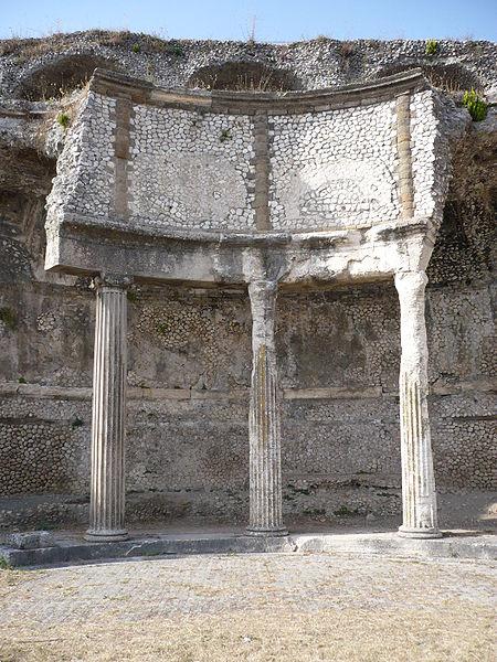 Palestrina. Nel tempio della Dea Fortuna