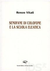 Renzo Vitali su Senofane di Colofone