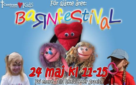 Barnfestivalannons 2014
