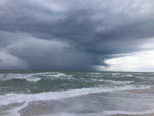 Storm over the Gulf of Mexico