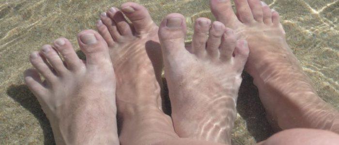 nos pied
