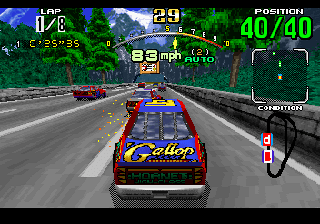 Developer: Sega-AM2 Publisher: Sega Genre: Arcade Racing Released: May 11, 1995 Rating: 4.0