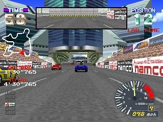 Developer: Namco Publisher: Namco Genre: Arcade Racing Released: September 25, 1996 Rating: 3.5