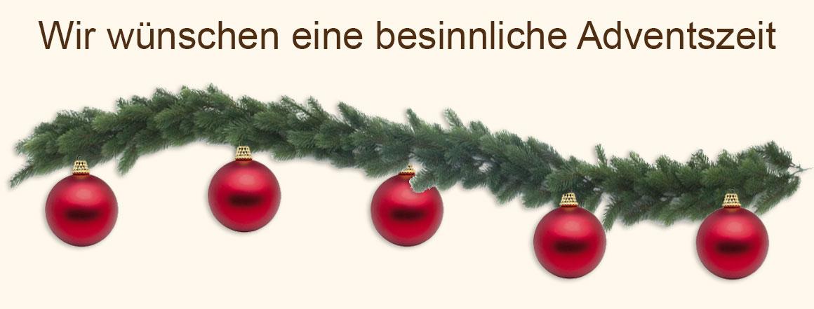 Adventszeit-Banner