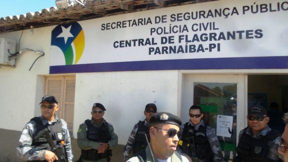 Dos 57 detentos na Central de Flagrantes em Parnaíba, 10 são por violência doméstica;confira