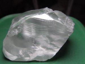 138.57 carat white diamond recovered at Cullinan – August 2016 Credit: Petra Diamonds