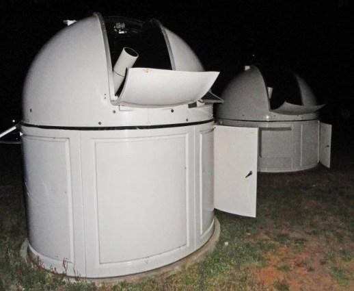 Warrumbungle Observatory telescope farm