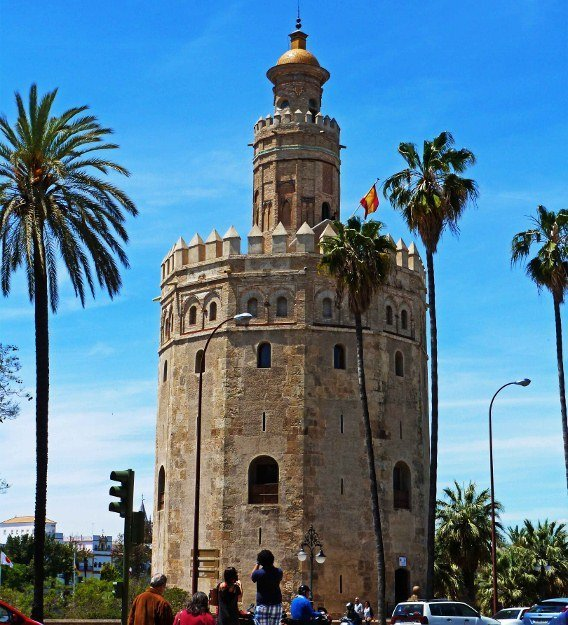 Seville Torre del oro tower of gold