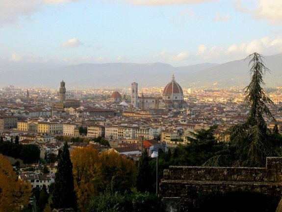 Florence view from San Miniato al Monte