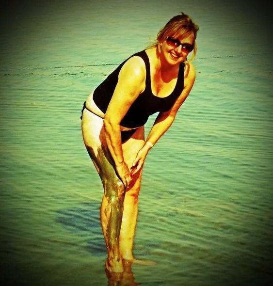 Dead Sea Israel mud