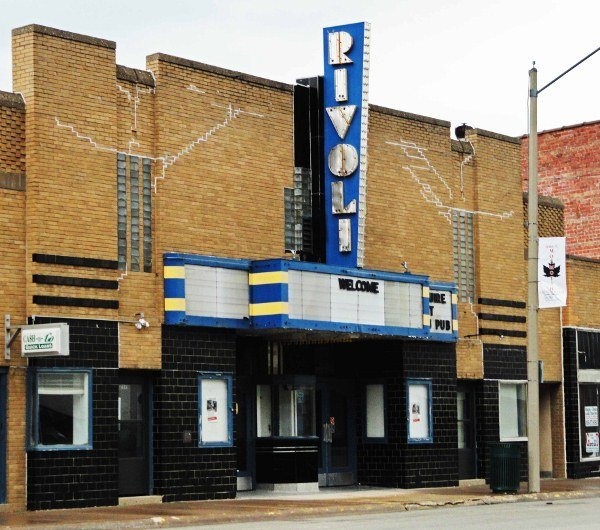 Rivoli Theater Monmouth Illinois art deco