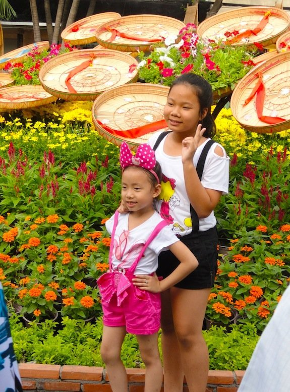 Nguyen Hue Flower Street-Ho Chi Minh City