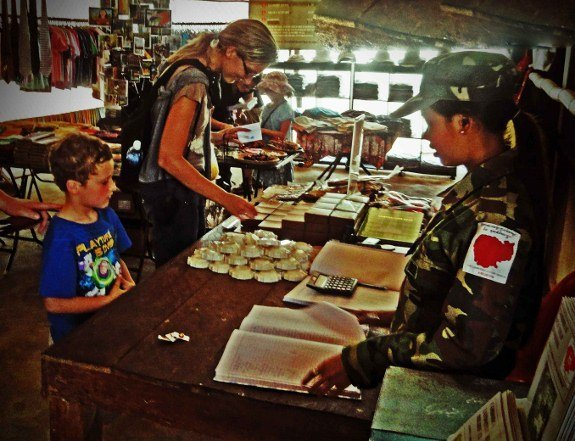 Cambodian landmine museum gift shop (575x441)