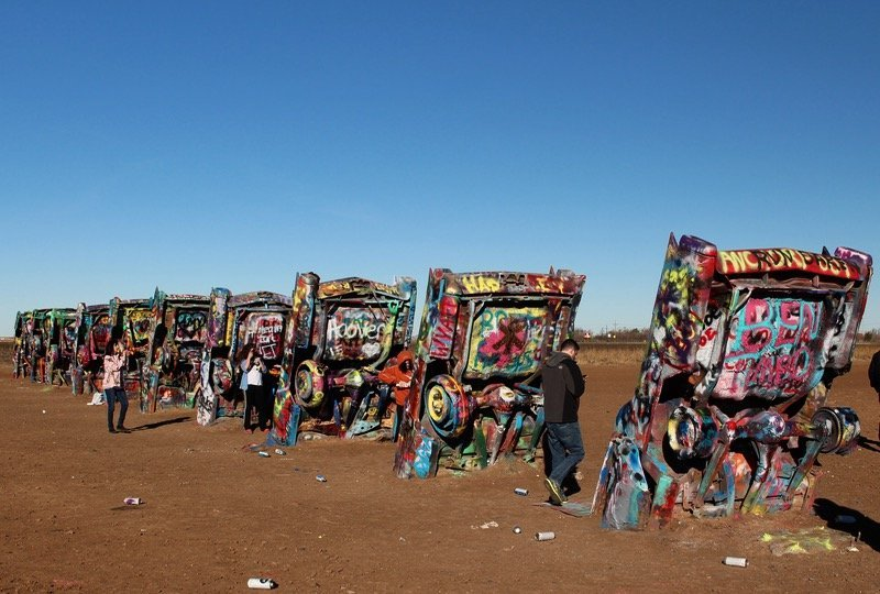 cadillac ranch the quirky car sculptures of texas. Cars Review. Best American Auto & Cars Review