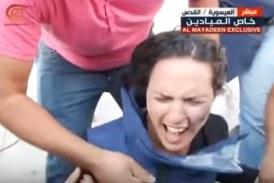 ¡WTF! Golpean A Reportera En Plena Transmisión Con Una Granada