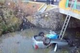 #Morelia Aparatoso Accidente De Auto Que Cayó Al Río Grande Esta Tarde; Falleció Una Persona