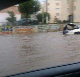 Aguacero Al Norte De #Morelia Deja Inundaciones Menores Y Apagones