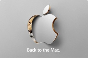 Apple Back to the Mac media event invite