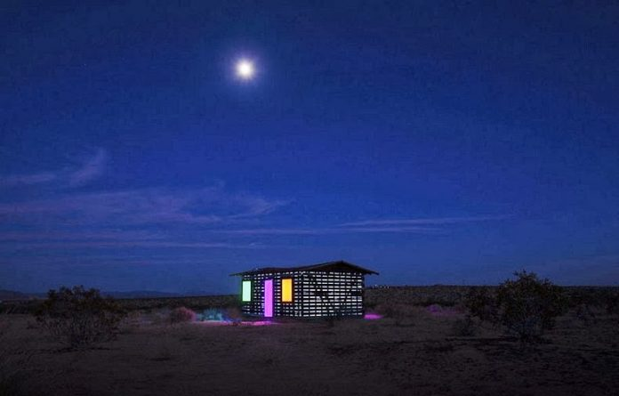 American Artist has selected an abandoned Cabin in the deserts of California