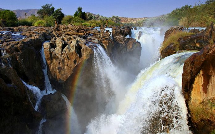 "Dangerous  >> African Jewel ""Epupa Fall"" on the Border of Angola and ..."