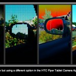 HTC Flyer Tablet Camera Functions
