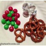 Chocolate Kiss Pretzels