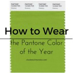 How to Wear Pantone Color Greenery 2017