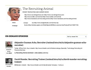 The Recruiting Animal Online Radio | BlogTalkRadio