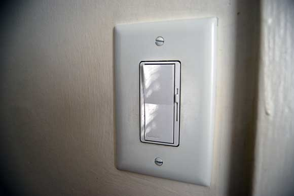 when your lights are controlled by a dimmer switch they utilize less. Black Bedroom Furniture Sets. Home Design Ideas