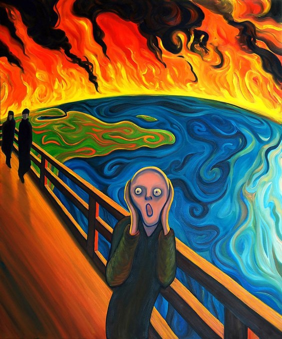 Earth Scream after Munch