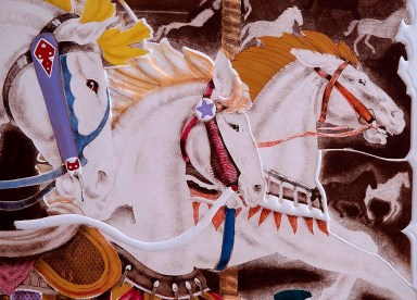 Carrousel, detail 1