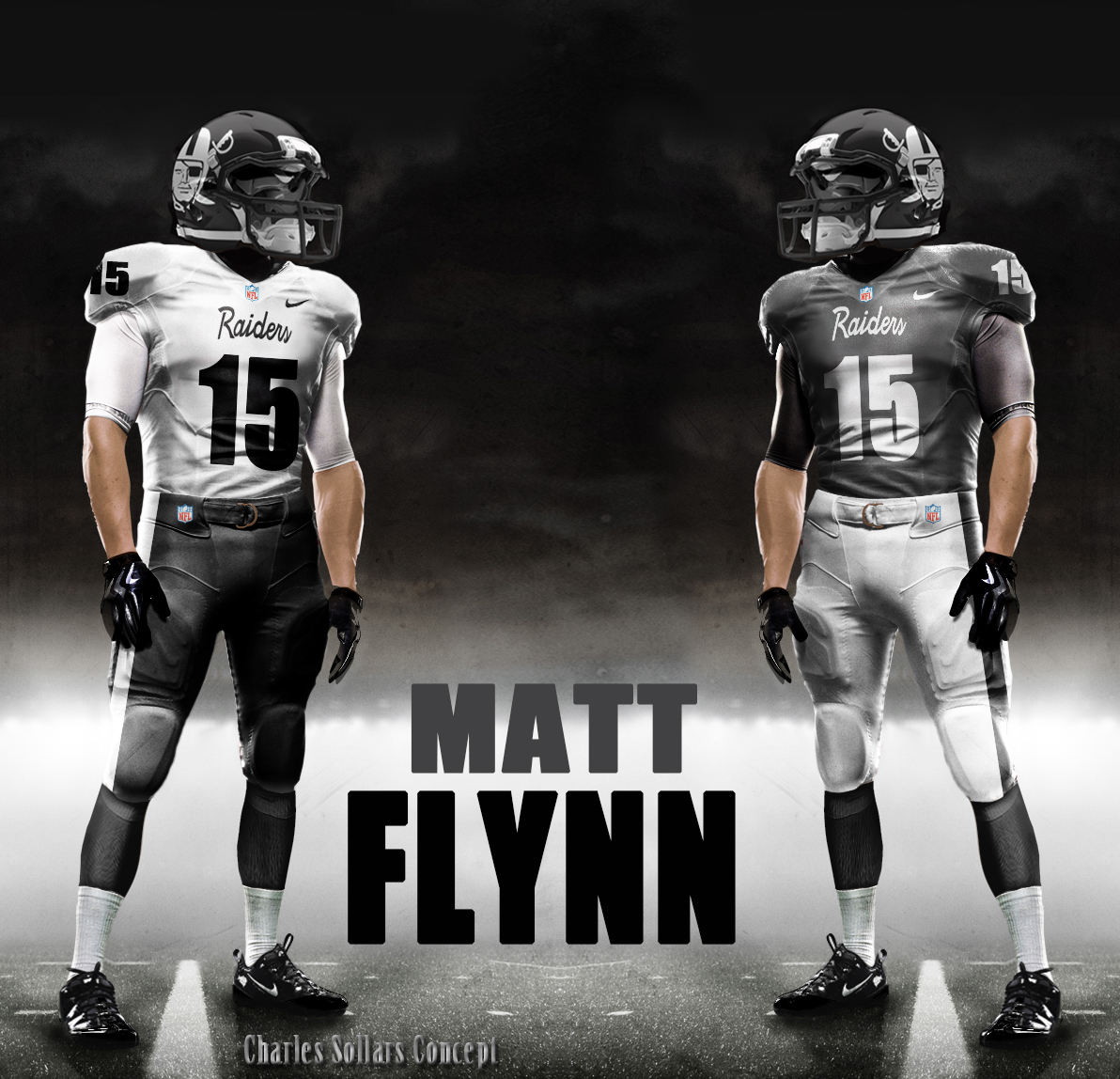 Raiders New Uniforms 2014 Matt flynn raiders 3