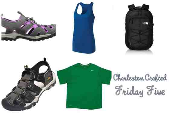 Friday Five - Fall Hiking Gear - Cahrleston Crafted