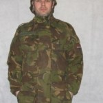Dutch Army waterproof lined combat jacket
