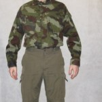 irish army shirt