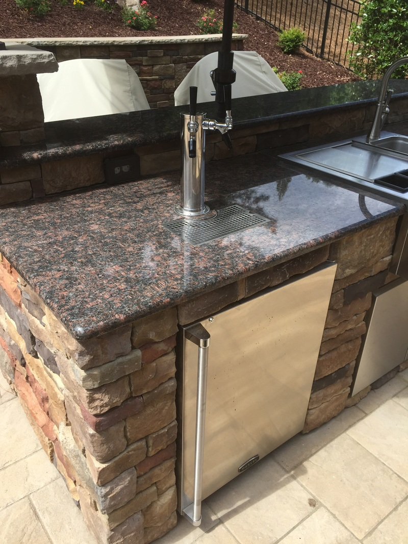 gallery outdoor kitchen island Outdoor kitchen project