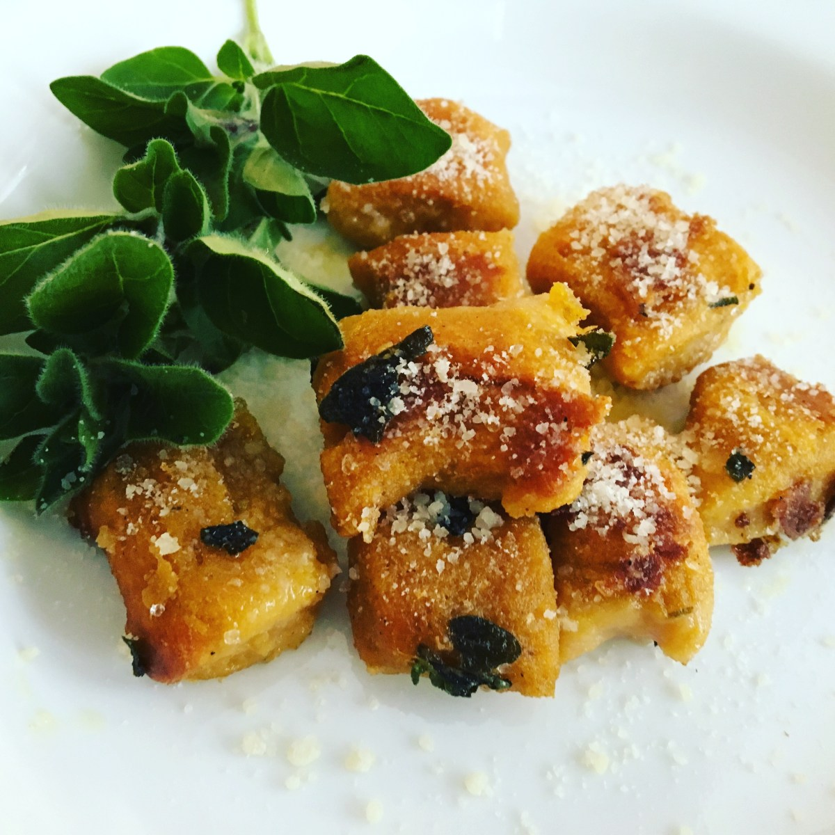 Comfort After Chaos: Sweet Potato Gnocchi with Oregano Olio