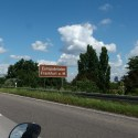 About to get to the Europabrücke (Europe bridge)