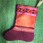 Sew a Felt Christmas Stocking with a Pocket