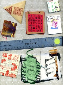 tiny books made by various artists