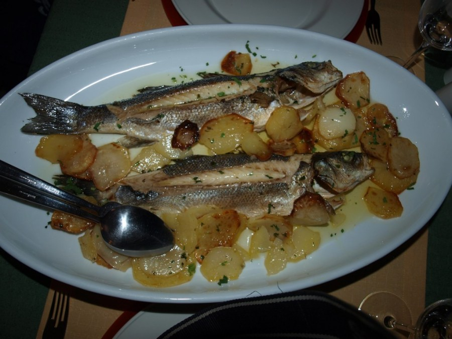 Hotel Villa Dvor Restaurant Knez Fish - Chasing the Donkey Croatia