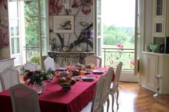 cuisine pour les hôtes du château de Bézyl
