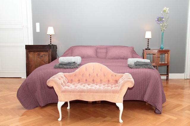 """suite de luxe """"duchesse"""" au château de Bézyl"""