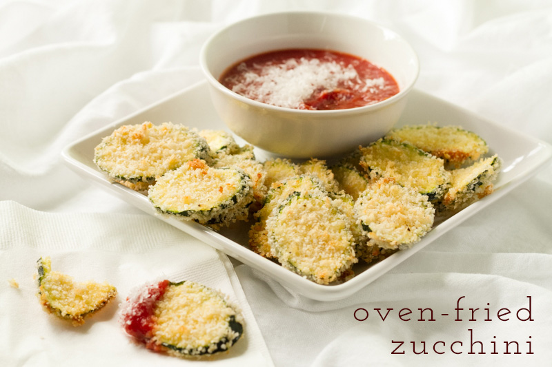 fried zucchini with text
