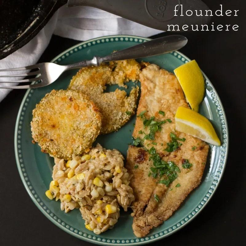 Flounder meuniere // chattavore