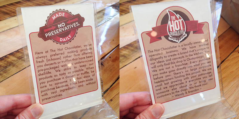 hot chocolatier diptic 2