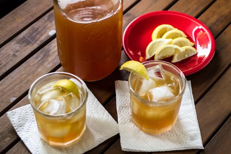 honey-ginger-lemon sweet tea | chattavore