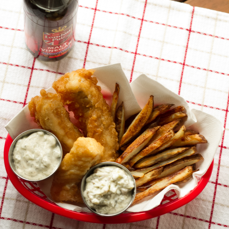 Fish chips for Fish and chips sauce