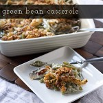 Green Bean Casserole (from scratch)